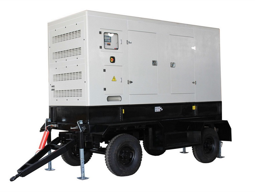 360kw to 400kw diesel genset with trailer
