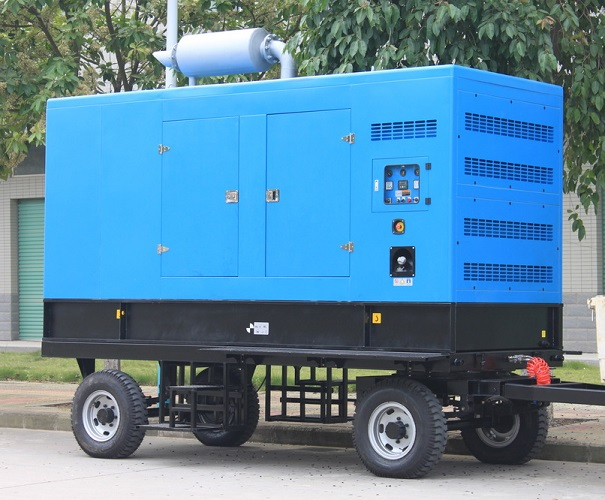 320kw trailer type diesel generator set 400kva dg set
