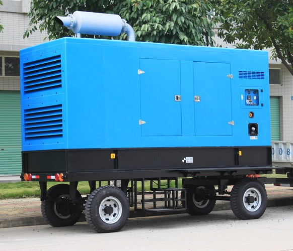 400kw diesel generator set 500kva trailer power generator set
