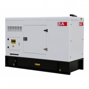 Hot sale Cummins 25KVA soundproof type diesel genset